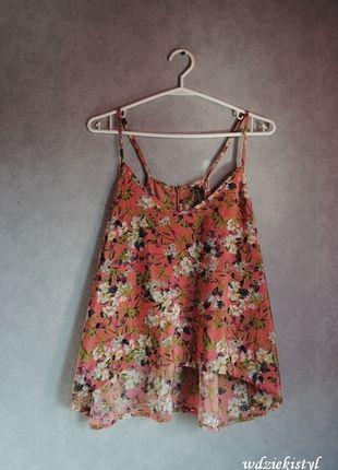 Kup mój przedmiot na #vintedpl http://www.vinted.pl/damska-odziez/koszulki-na-ramiaczkach-koszulki-bez-rekawow/10874865-bluzka-w-kwiaty-kolorowa