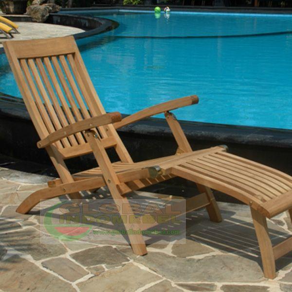 Teak Ocean Pull Steamer | Teak Garden Furniture Manufacturer - Indonesia Furniture Wholesale