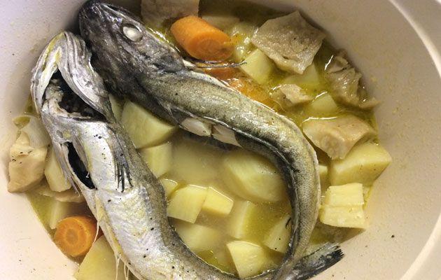 Ένας ψαράς μου είπε το μυστικό της ψαρόσουπας