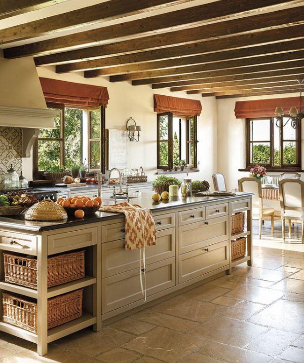 Кухня в стиле прованс   Colors.life