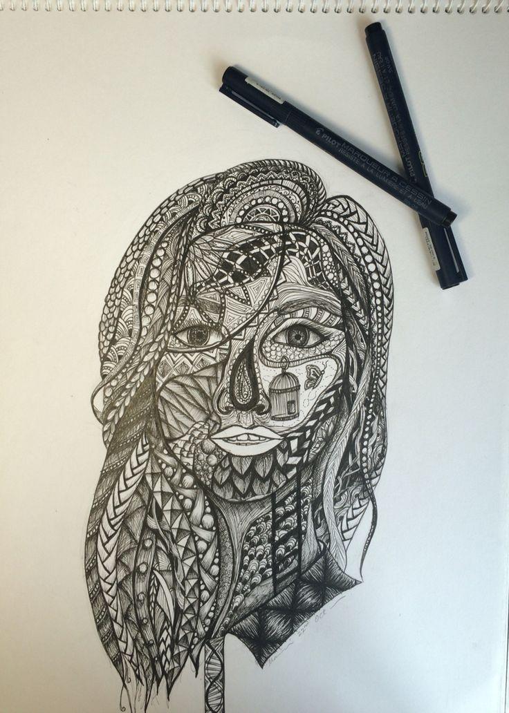 ~ zentangle inspired ~