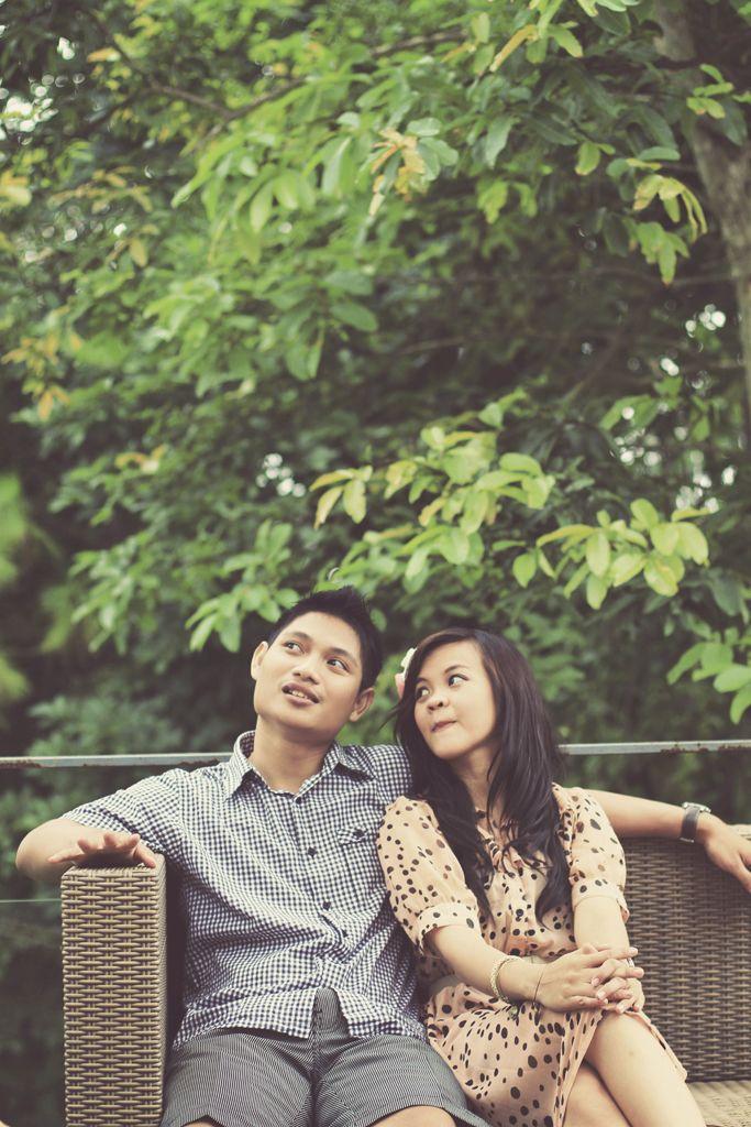 Anita & Ario pre wedding photo by Polaris Photography.