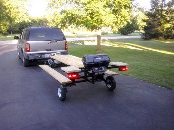 Towable Picnic Table. | rePinned by SECfootball101.com