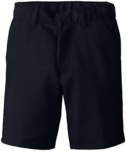 (6114) Genuine School Uniforms Boys Pleated Front Short (Sizes 4-16) in Navy Size: 5