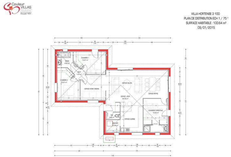 17 best images about plans de maison on pinterest for Construire maison 90 000 euros