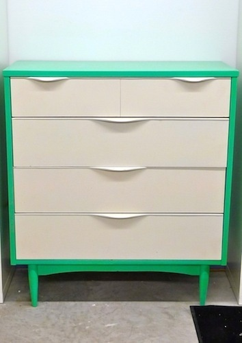Good Sources For A Streamlined Workspace U2014 Weekend Shopperu0027s Guide. Mid  Century DresserMid Century FurnitureDresser MakeoversPainted ...