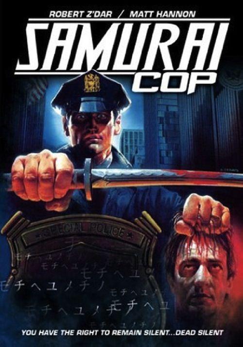 Samurai Cop - Returns Matt Hannon Robert Z'Dar Mark Frazer Gregory Hatanaka