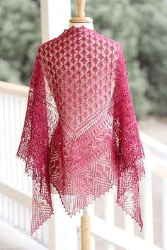 Ravelry: Town Square Shawl pattern by Rosemary (Romi) Hill