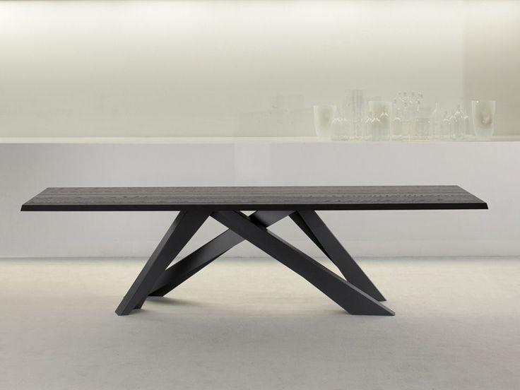 Rectangular table BIG TABLE by Bonaldo design Alain Gilles