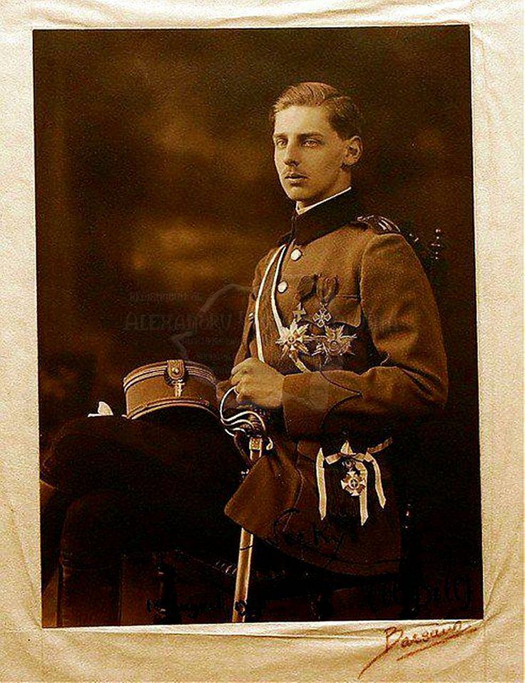 Principele Nicolae, al doilea fiu al Regelui Ferdinand si al Reginei Maria.