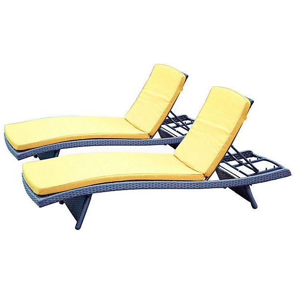toza mustard chaise lounger s2 outdoor lounge sets 885 cad liked