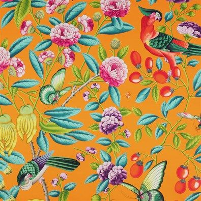 Manuel Canovas celebrates 50 Years with this striking pattern from their archive, entitled 'Serendip'