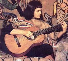 Violeta Parra, compositora,musica y cantante chilena