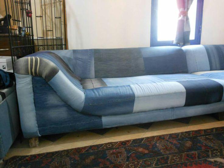 #Jeans #furniture #couver #kot #koltuk #kaplama #döşeme #tasarım fikirler #ideas #design #ev #bahçe #mobilya