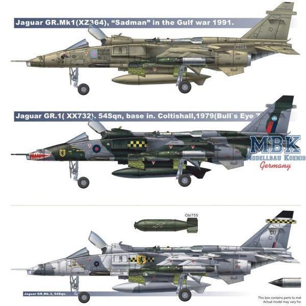 Aviones Caza y de Ataque: SEPECAT Jaguar