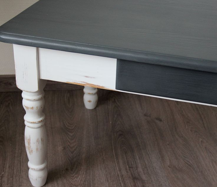 table basse patin e bord de mer effet shabby shabby and tables. Black Bedroom Furniture Sets. Home Design Ideas