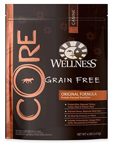Wellness CORE Natural Grain Free Dry Dog Food, Original Turkey & Chicken, 4-Pound Bag - http://www.balanced4u.net/crittercare/wellness-core-natural-grain-free-dry-dog-food-original-turkey-chicken-4-pound-bag/