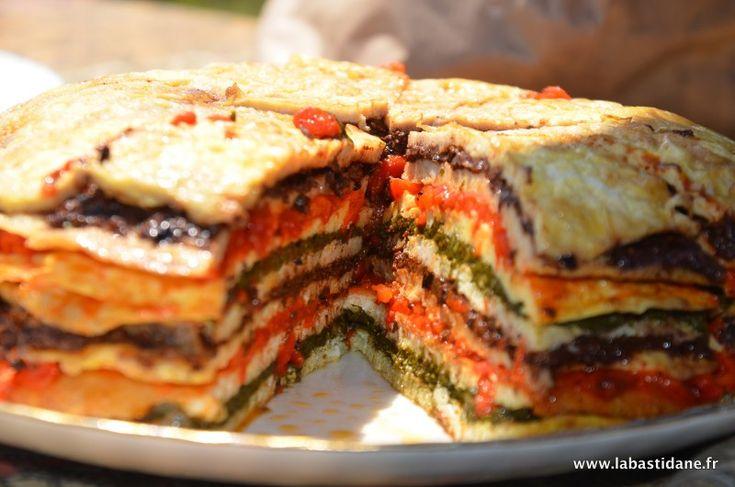 Le crespeou est un gâteau d'omelettes d'herbes et de légumes empilés par couches superposées que l'on mange froid accompagné ou non d'un coulis de tomate. Cette recette, qui semble être native d'Avignon et du haut-Vaucluse (Piolenc, Orange), est devenue populaire dans tout le Comtat Venaissin, la région Provence et le pays de Nice