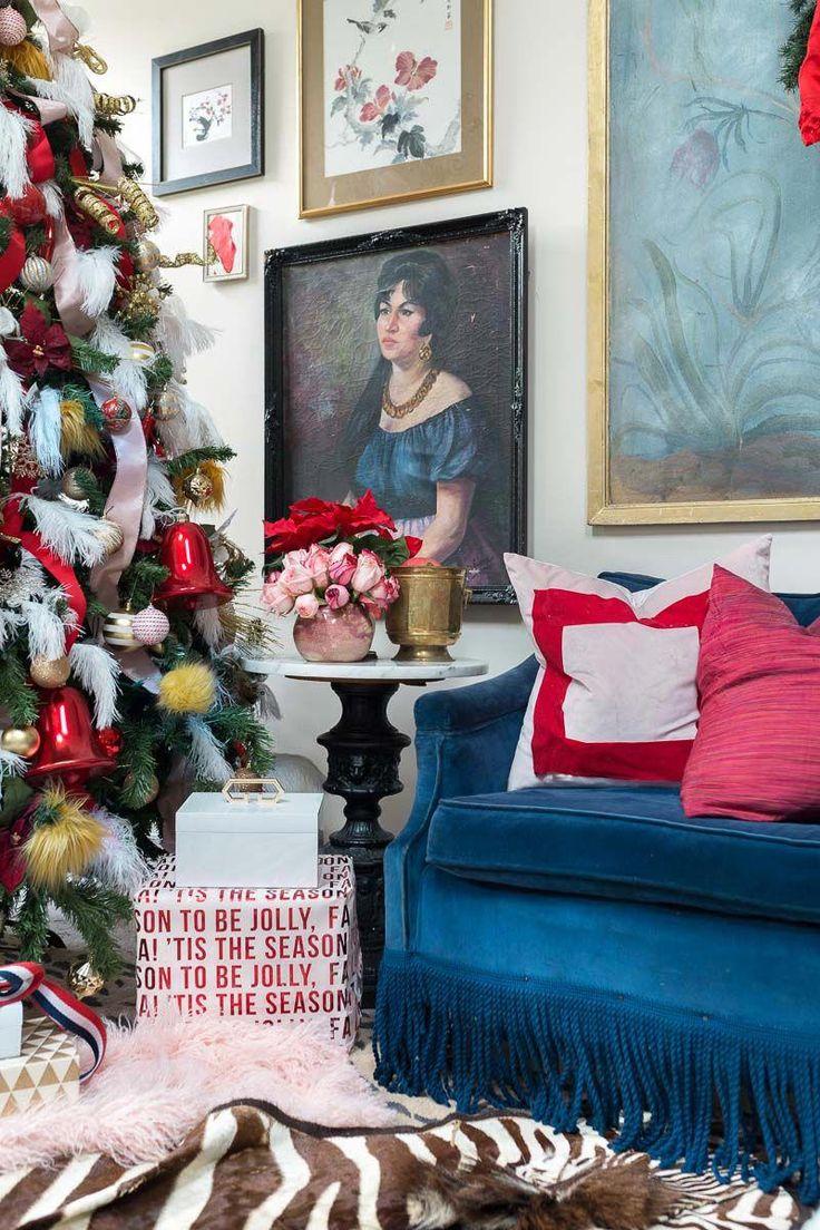 Das musst du sehen! Es ist ein bunter Lebensblog Hopfen, juwelenbesetzte Innenräume, 2018, …   – christmas tree themes pictures