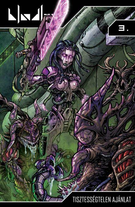 Bloodlust 3. - Tisztességtelen ajánlat (képregényborító)