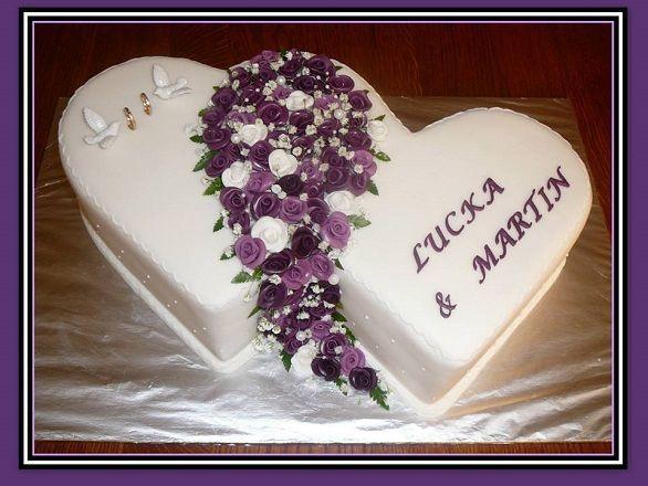 Svatební dvojsrdce