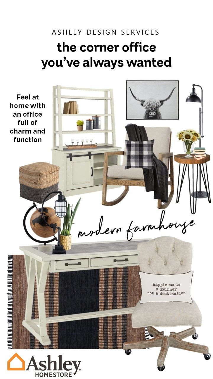 Functional Farmhouse Home Office Decor Cozy Home Office Home Office Furniture