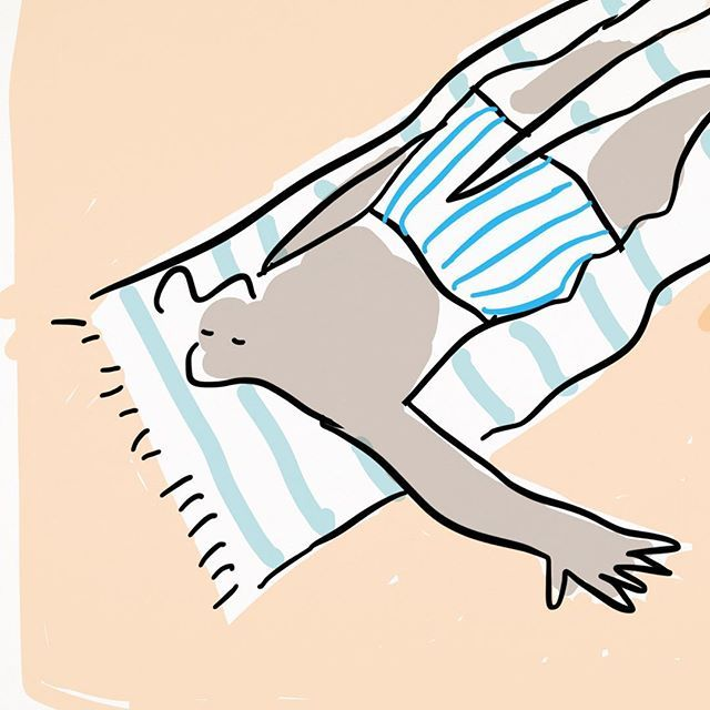 Ecobeach (Stay in sand) #ecobeach #illustrated #illustration #digitalillustration #draw #draws #drawing #beach #sketch #sketches #sketching #paint #painting #paintings #doodle #doodles #doodlings #doodling #dessin #design #desenhos #desenho #dibujos #animation #newyorkermag