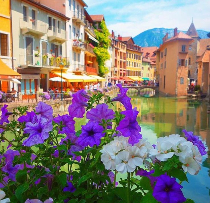 The Canal in Annecy #France