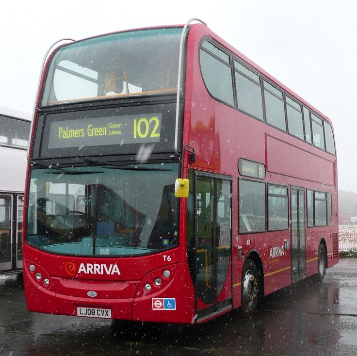 Alexander Dennis Enviro400s for route 102