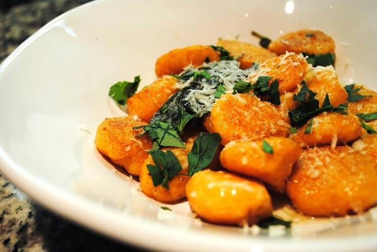 Sweet potato nocchi. #talktome