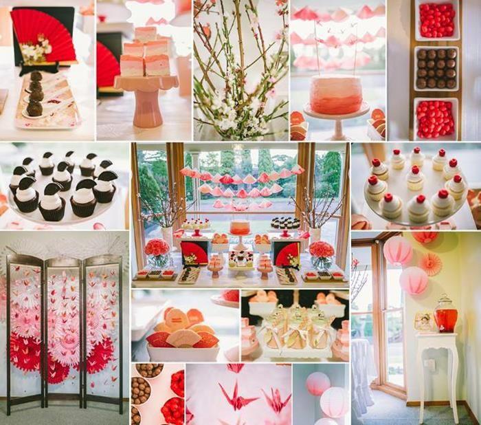 Japanese Themed Birthday Party with SUCH CUTE Ideas via Kara's Party Ideas | Kara'sPartyIdeas.com .