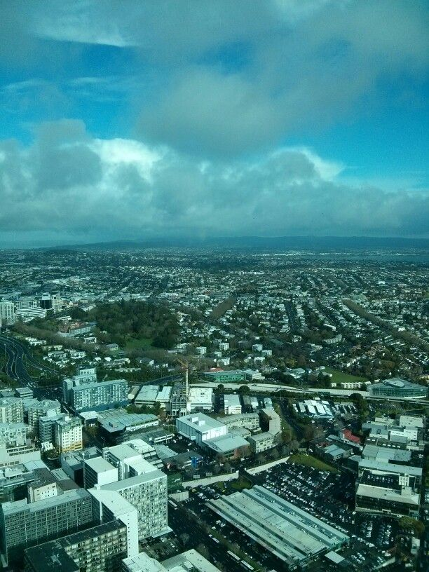 Sky Tower view of Auckland