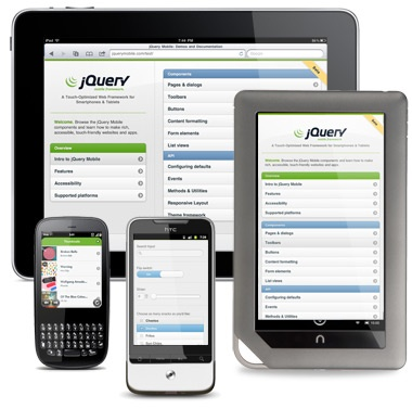 Building Websites and Browser Apps with jQuery Mobile – A Beginner's Guide