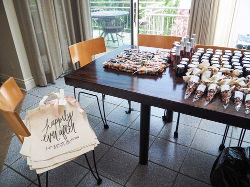 Wedding Hotel Bags