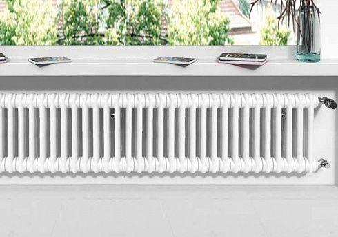 Трубчатый радиатор Arbonia 2035/32 N69 твв двухтрубный, 350 мм высотой, 1440 мм длиной, 32 секций, нижнее с вентилем подключение
