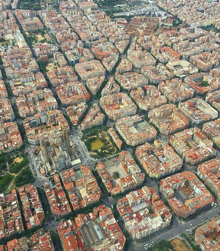 Top veiw of Barcelona ❤ #pinterest #adventure
