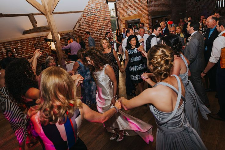 Jewish dancing time around the bride! Photo by Benjamin Stuart Photography #weddingphotography #jewishwedding #jewishdancing #party #weddingday #dancing