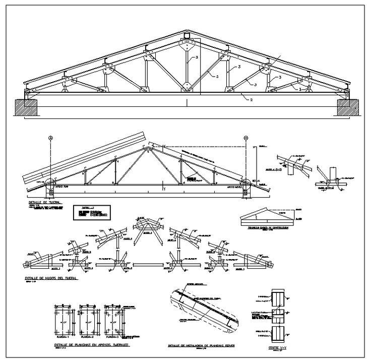 Pin nyssa olavario bar truss structure steel, 10x12 pergola roof plans
