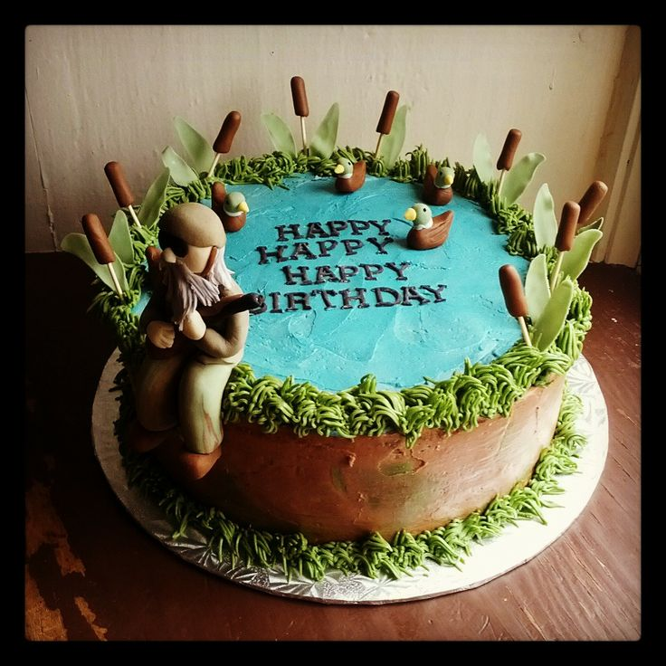21 best Duck Hunting cakes images on Pinterest Duck hunting