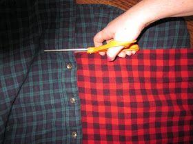 fashionating!: First DIY...yay! - No sew plaid infinity scarf