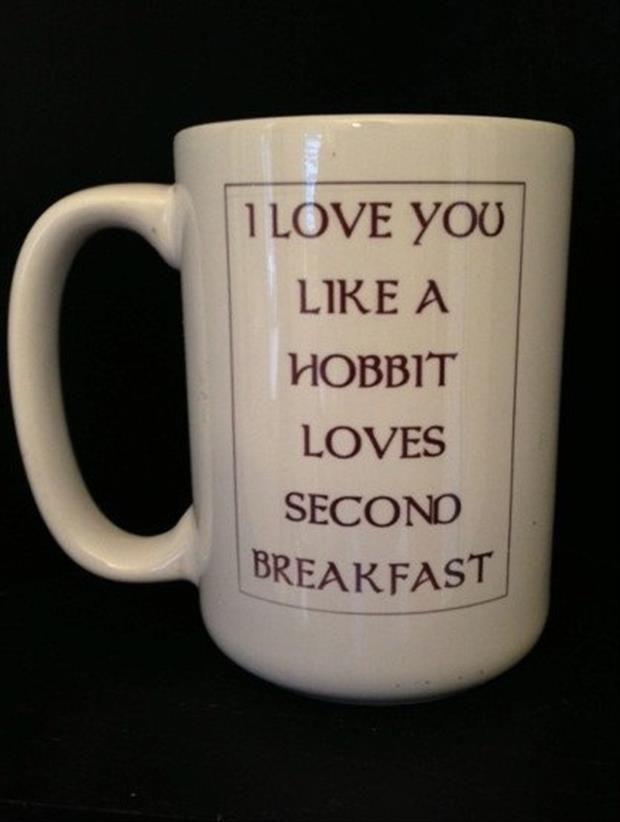like a hobbit