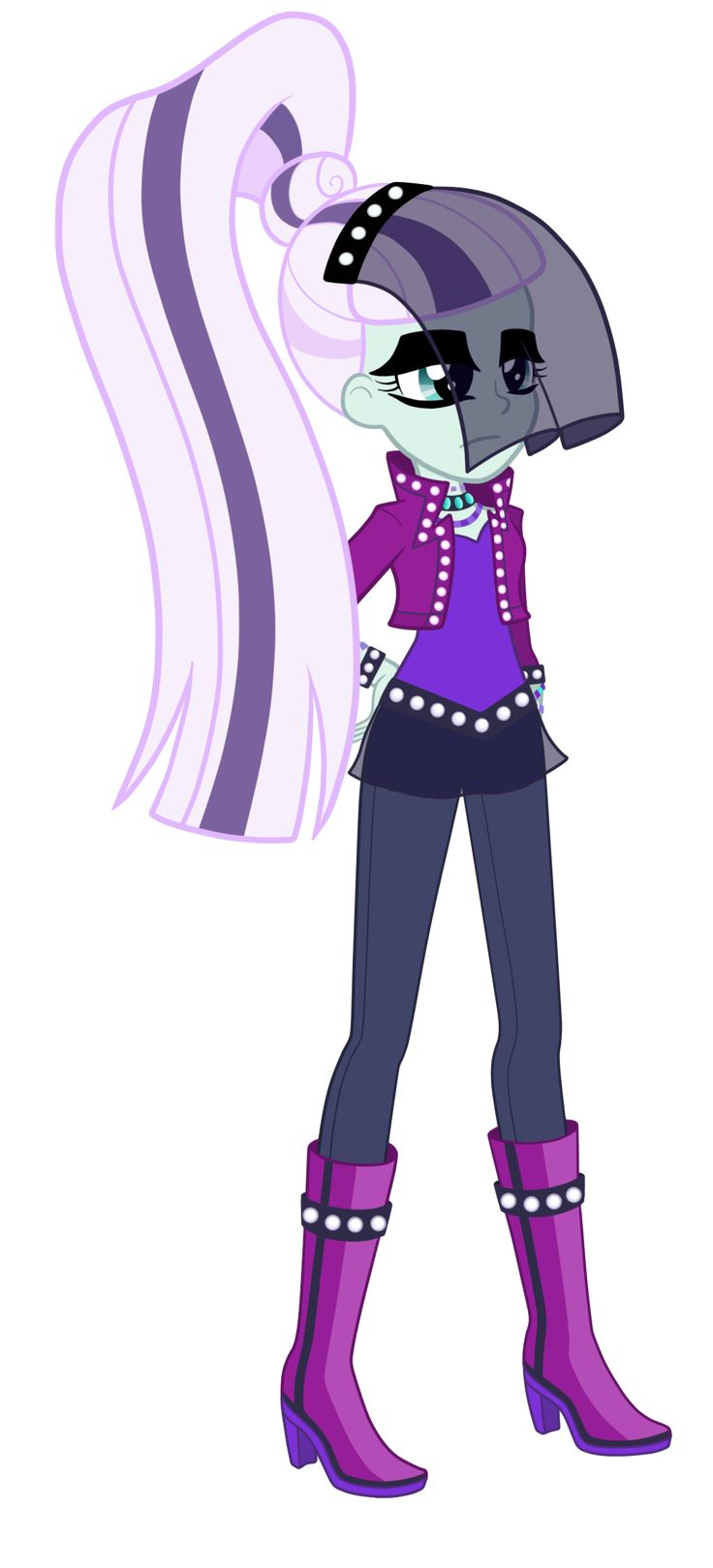 Equestria Girls: Countess Coloratura by TheCheeseburger on DeviantArt