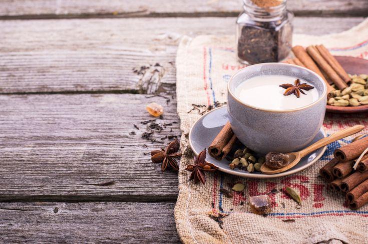 Chaï latte au beurre   Latte, Smoothies and Food