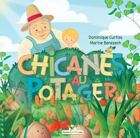 Ce matin, Théo et Papi sont au potager. Ils prennent soin des légumes que Papi cultive avec amour, mais ils sont loin de se douter que ce petit monde d'en bas se chicane et se taquine. Même la chouette, qui aimerait bien dormir, leur demande de cesser ce vacarme et d'arrêter de raconter autant de salades ! À partir de 5 ans. http://www.amazon.com/Chicanes-potager-French-Dominique-Curtiss/dp/2896875425/ref=sr_1_1?ie=UTF8&qid=1437352863&sr=8-1&keywords=chouetteditions+chicanes
