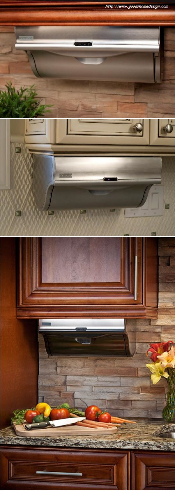 Automatic paper towel dispenser for home - Practical Kitchen Idea Automatic Paper Towel Dispenser Video