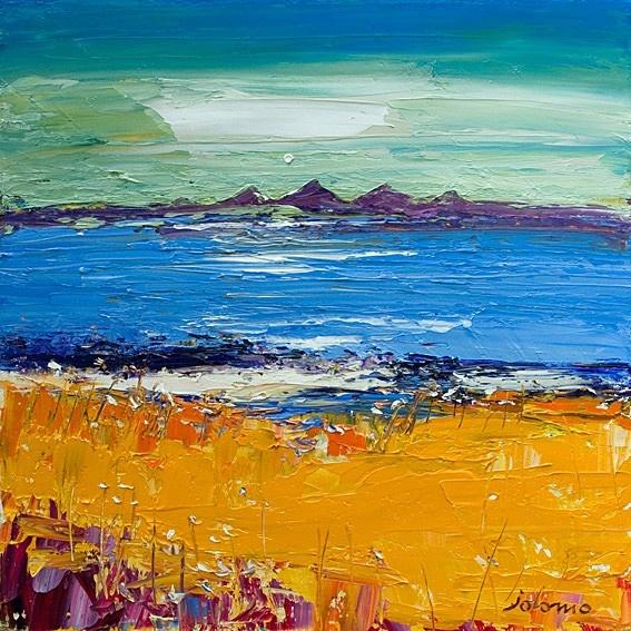 Art Prints Gallery - Hayfield Tayinloan, £30.00 (http://www.artprintsgallery.co.uk/John-Lowrie-Morrison/Hayfield-Tayinloan.html)