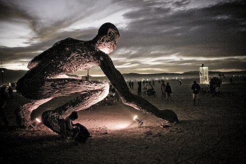 Mumbatu: Art Installation 2008 Burningman