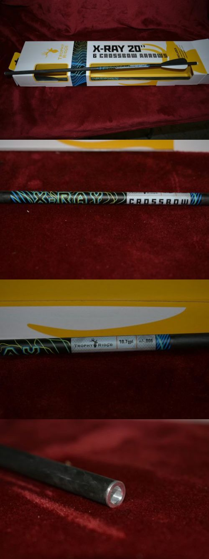 Crossbow Bolts 181309: Nib Trophy Ridge X-Ray 20 Carbon Crossbow Bolt..Box Of 6 -> BUY IT NOW ONLY: $65.5 on eBay!