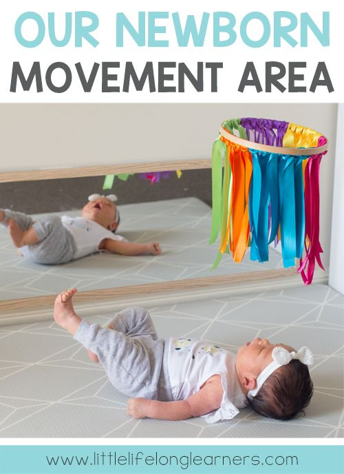 Learn How We Set Up A Gorgeous Newborn Movement Area For Our New Baby Download A Free Set Of High Contrast Cards Perfect For Your Newborn