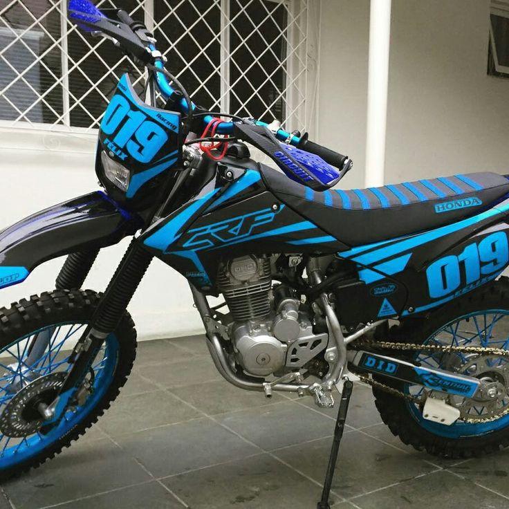 #Blue #grafico #adesivo #renovagrafix #motocross #enduro #crf #stickers #decals www.renovagrafix.com.br